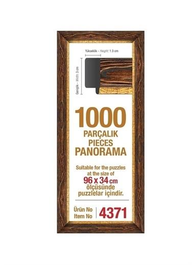 Art Puzzle Art Puzzle 4371 Panorama  1000'Lik Puzzle Çerçevesi Renksiz